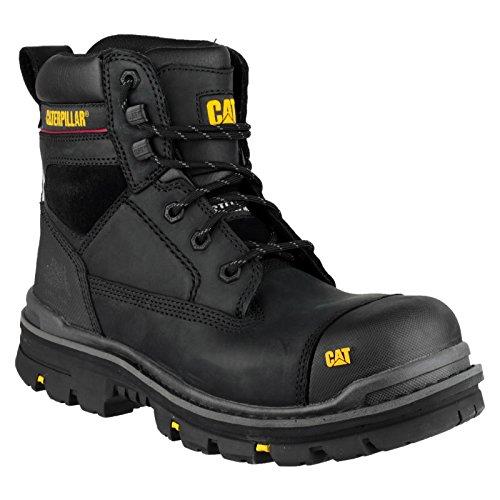 Caterpillar Gravel - Chaussures Montantes de Sécurité - Homme Noir