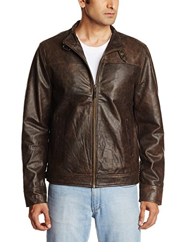 Arrow Newyork Men's Leather Jacket (8907036908589)