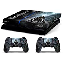 Skin PS4 WhiteP HD BLOODBORNE - limited edition DECAL COVER ADHESIVO playstation 4 SONY BUNDLE