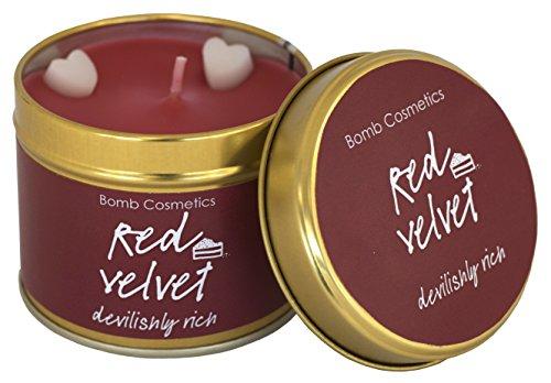 Bomb Cosmetics Bougie parfumée en boîte en Velours Rouge