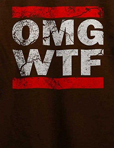 Omg Wtf T-Shirt Braun