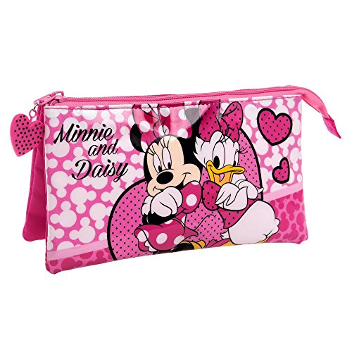 disney-4494351-minnie-daisy-nice-day-beauty-case-da-viaggio-poliestere-rosa-22-cm