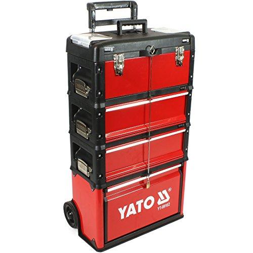 Werkzeug-Trolley YT-09102 + Werkzeugkasten YT-09108