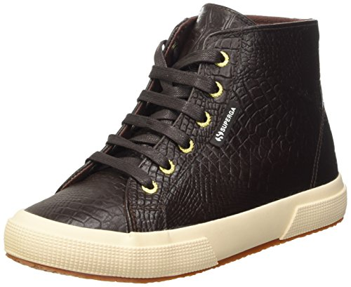 Superga 2095-PLUS fglwembcocco Women's Gymnastics Shoes brown Size: 6.5