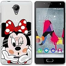 PREVOA Colorful Silicona TPU Funda Case Protictive para Wiko UFEEL Lite Smartphone - 12