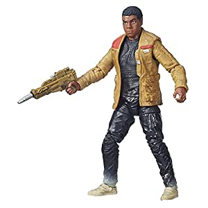 """Hasbro Star Wars B3835ES0 - E7 The Black Series 6"""" Figur: Finn Jakku, Actionfigur"""