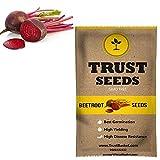TrustBasket Beetroot Vegetable Seeds (GMO Free)