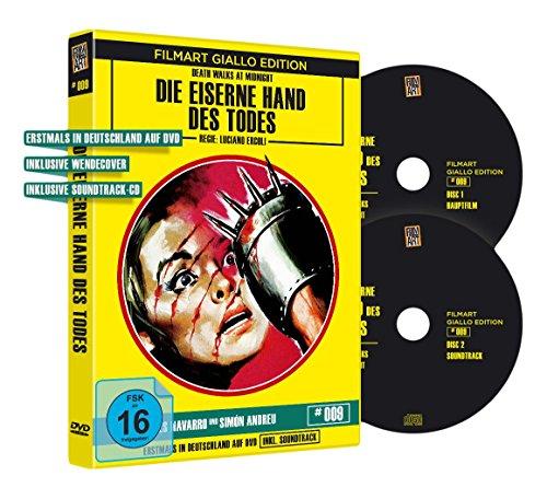 Die eiserne Hand des Todes - Filmart Giallo Edition Nr. 9  (OmU) (+ CD-Soundtrack) [Limited Edition]