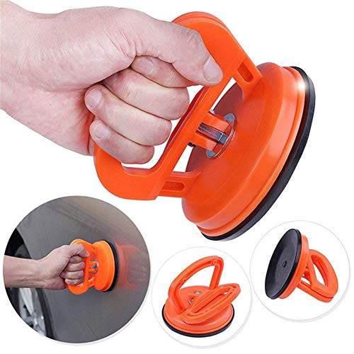SuRose Auto-Dent-Saugnäpfe Orange Aluminium-Saugnapf Dent Puller-Griffheber - Dent Remover Heavy Duty Glaslifting - Heavy-duty-dent Puller