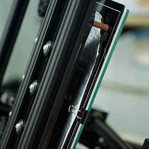 HWA KUNG 2pcs Stuoia di Cotone Isolante Autoadesivo Isolante per Letto 220mmx220mm(8.66x8.66)Stuoia Impermeabile Dellisolamento Termico per le Parti del Letto di Calore Della Stampante 3D