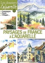Paysages de France à l'aquarelle