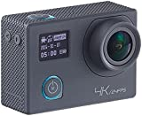 Somikon Aktioncam: 4K-Action-Cam für UHD-Videos mit 2 Displays & 16-MP-Sony-Sensor