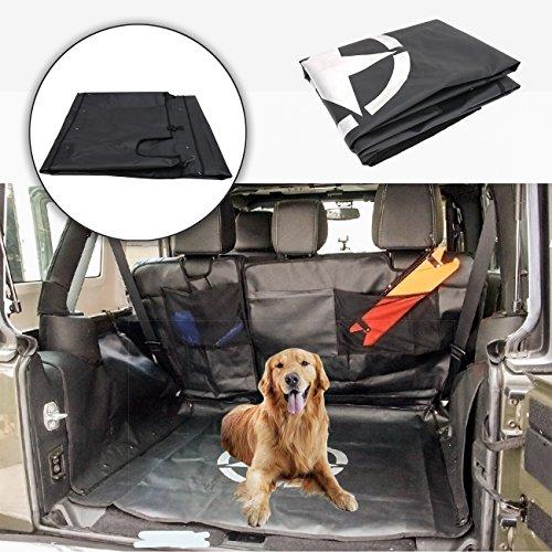 BOXATDOOR Per JK Wrangler 2007–2017porte, auto sedile posteriore copertura multiuso Storage Case amaca 600D Oxford anallergico antiodore