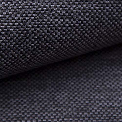 NOVELY® MUDAU   Polsterstoff   Meterware   Möbelstoff   Webstoff   Struktur-Stoff   Mélange   Grober Handwebcharakter   26 Farben (12 Dunkelgrau)