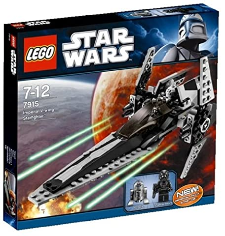 Lego Star Wars 7915 - Imperial V-wing Starfighter (Lego Star Wars A Wing)