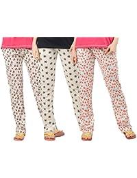 Peach Blossom Womens Nightwear pyjama pack of 3