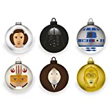 Rubber Road Star Wars - A New Hope Christbaumkugeln (6er-Pack)