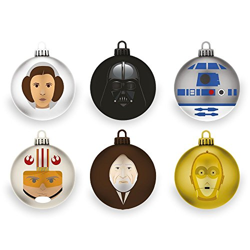 Rubber Road Star Wars – A New Hope Christbaumkugeln (6er-Pack)