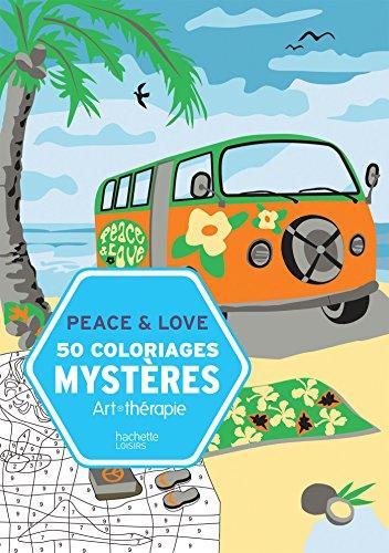50 coloriages mystères Peace & Love