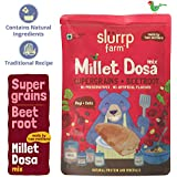 Slurrp Farm Millet Dosa Instant Mix | Supergrains and Beetroot | Natural and Healthy food, 150gm