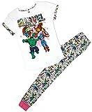 Femmes Marvel Comics Hulk Thor Haut T-Shirt Paquet-cadeau Pyjamas Grandes Tailles de 8 pour 22 - Cotton, Blanc, 100% coton, Femme, Taille 40-42