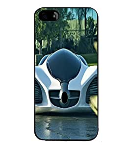 printtech Water Mushroom Back Case Cover for Apple iPhone 5