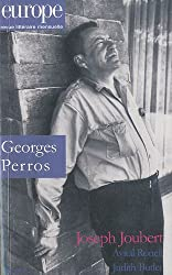 Europe, N° 983, mars 2011 : Georges Perros