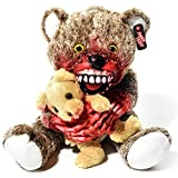 Zombie Teddy Original XXL die Halloween Teddybär Undead-Teds Evolution für alle Splatter & Horror Fans; Kannibale
