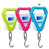Elektronische Digitale Personenwaage, mit Anzeige, tragbar, mit ant-cheat, für Hausfrau blau