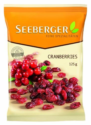 Preisvergleich Produktbild Seeberger Cranberries,  13er Pack (13 x 125 g)