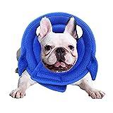 MYYXGS Collare di Protezione per Animali Domestici Collare per Animali Domestici Articoli per Animali Domestici Cartoni Animati Anello per La Pulizia del Cane