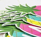 SUNBEAUTY Ananas Girlande SUMMER Buchstaben Banner Sommerparty Dekoration - 5