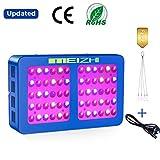 MEIZHI Pflanzenlampe 300 Watt LED Grow Lampe Vollspektrum für Zimmerpflanzen Schaltbar Gemüse und Blumen Reflektor 300w 450W 600W 900W 1200W