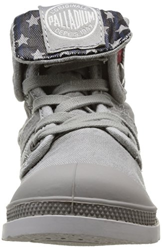 Palladium Baggy Flag, Boots mixte enfant Gris (059 Grey)
