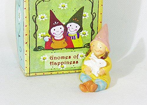Oggettistica per bomboniere gnomi della felicità (gnomo della tenerezza)