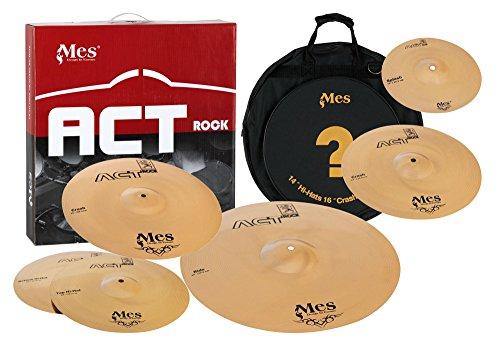 Mes ACT Rock Series Becken Set Master (10