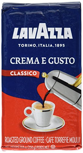 Lavazza 2 Pack Crema E Gusto Ground Coffee 8.8Oz/250G Each 51MZ2ENyqxL