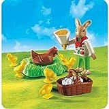 PLAYMOBIL® 4452 - Osterhäschen mit Huhn und Kükenschar