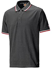 Dickies de Polo Camiseta River Ton, gris, SH2001 GY M
