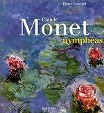 Claude Monet, Nymphéas (en français) de Pierre Georgel