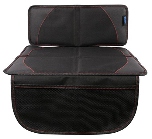 BabyMad® Autositzschoner, schützt Ihre Polsterung, inklusive Aufbewahrungs-Taschen, Universalgröße, ideal für Baby- und Kleinkinderautositze, rutschfest, Isofix-kompatibel