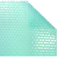WikiCover GeoBubble Sol-Guard Cobertor Solar térmico para Piscina, Traslúcido, 800x400x0.6 cm