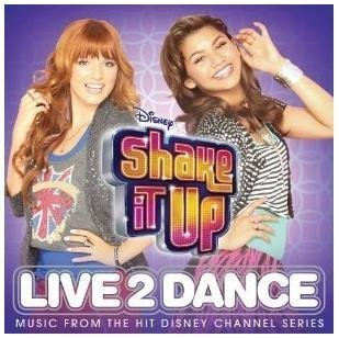 Disney Shake It Up Live To Dance CD LIMITED EDITION Includes 3 BONUS Songs by Bella Thorne, Zendaya (0100-01-01)