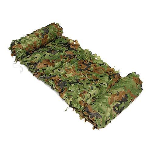 EBILUN Eilun Filet de Camouflage pour Camping Filet de Camouflage Militaire pour f/ête Chasse et Camping d/écoration de Photographie 2 x 2 m