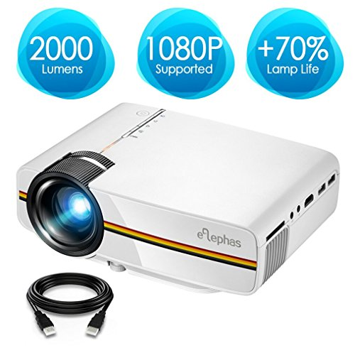 ELEPHAS LED Video Projector, Upd...