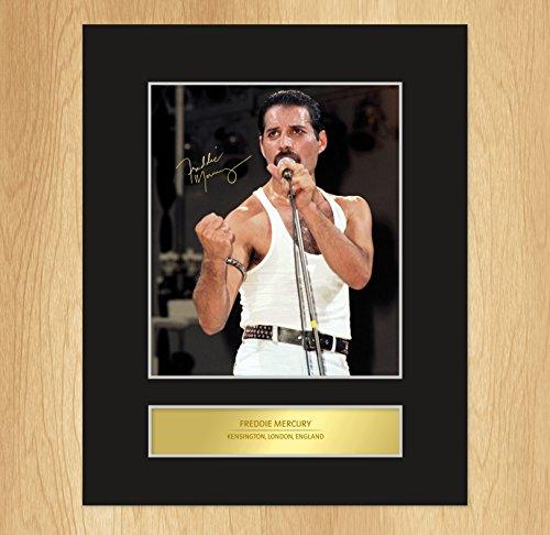 Espositore con foto di Freddie Mercury e cornice