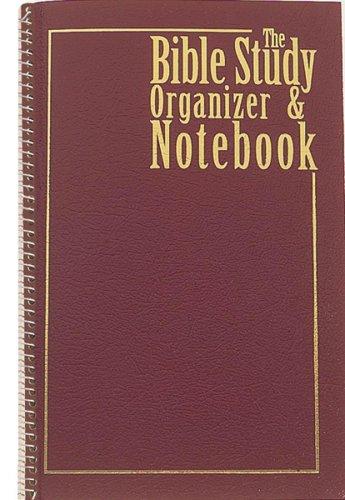 Bible Study Organizer & Notebook Spiral Bound