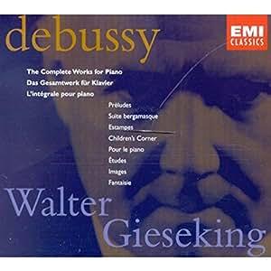 Debussy: L'intégrale pour piano
