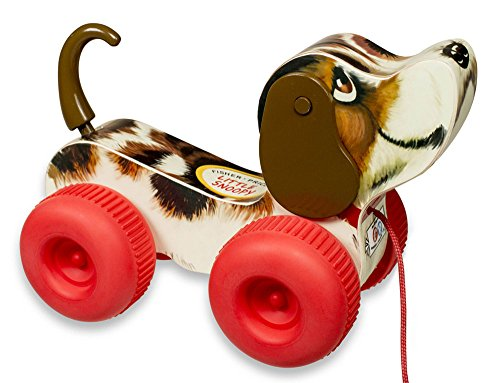 Fisher-Price 1650 Kleiner Snoopy, Motorikspielzeug (Pull Dog Toy)