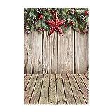 kingko® Weihnachten Backdrops Hochzeit Fotohintergrund Rosa Fotoleinwand Weiss Hintergrund Fotografie Wedding Fotohintergrund Hochzeit Vintage Fotohintergrund Textur (F)